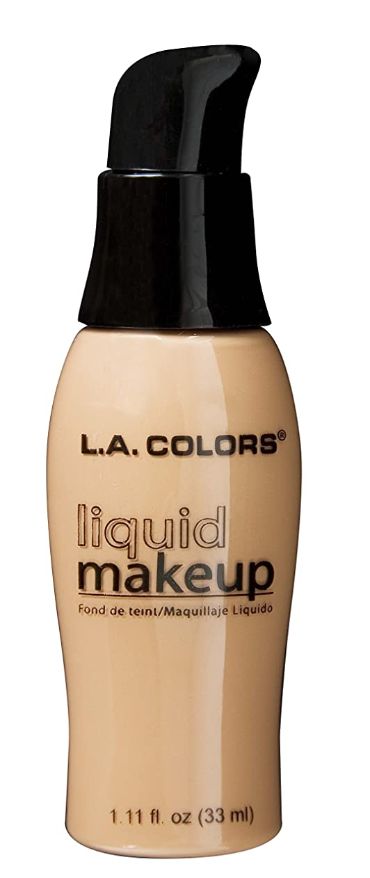 唯一ジェーンオースティンジャベスウィルソンLA COLORS Liquid Makeup Buff (並行輸入品)