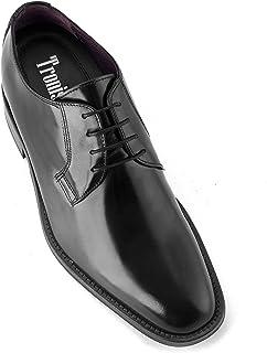 Zapatos de Hombre con Alzas Que Aumentan Altura hasta 7 cm. Fabricados en Piel. Modelo Oporto