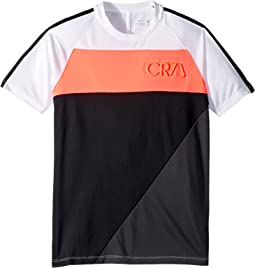 CR7 Dry Academy Short Sleeve Top (Little Kids/Big Kids)