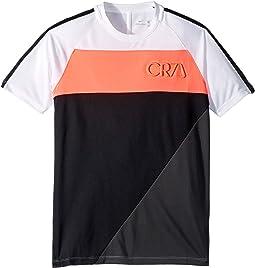 CR7 Dry Academy Short Sleeve Top (Little Kids/Big Kids)