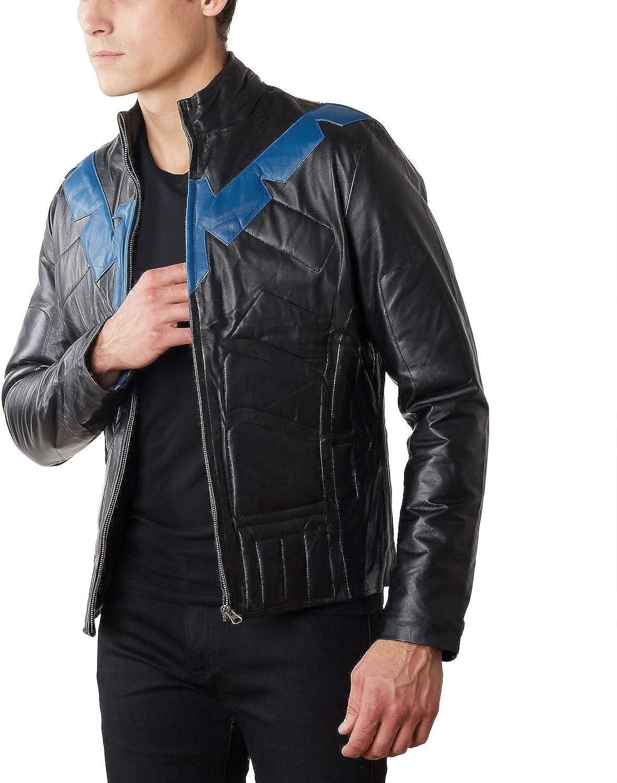 Men's Nightwing Leather Jacket