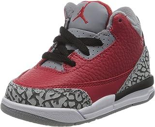 NIKE Jordan 3 Retro Se (TD), Zapatillas de básquetbol Niños