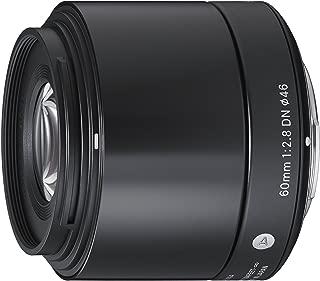Sigma 60mm F2.8 EX DN Art (Black) for Micro 4/3