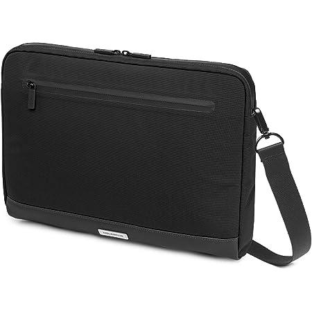 Moleskine Metro Device Bag Orizzontale Borsa Porta Pc per Laptop, Notebook, iPad e Tablet fino a 13'', Borsa a Tracolla Impermeabile, 35 x 26 x 4 cm, Nero