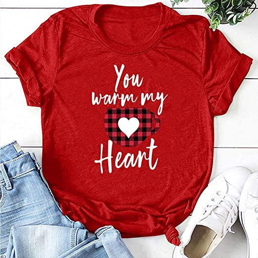 Outeck Easter Day T-Shirt Women Letter Print O Neck Short Sleeves Casual Tees 31E