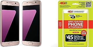 Straight Talk Galaxy S7 Pink 32GB
