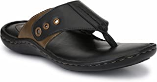 Shences Men's Synthetic Leather Casual Sandal
