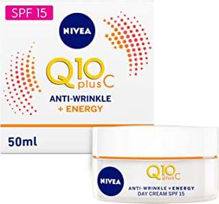 NIVEA, Face, Cream, Q10 Plus C Anti-Wrinkle Day, SPF15, 50ml