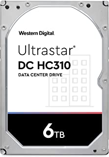 """Western Digital Ultrastar DC SATA HDD - 7200 RPM Class, SATA 6 Gb/s, 3.5"""" 6TB"""
