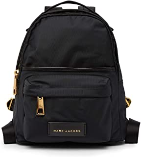 Nylon Varsity Small Backpack, Black