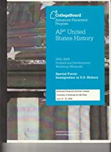 2006 AP United States History Released Exam (CollegeBoard Advance Placement Program)