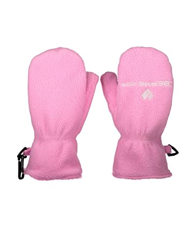 Obermeyer Kids Finley Fleece Mitten (Toddler/Little Kids) (Pinkies Up) Extreme Cold Weather Gloves