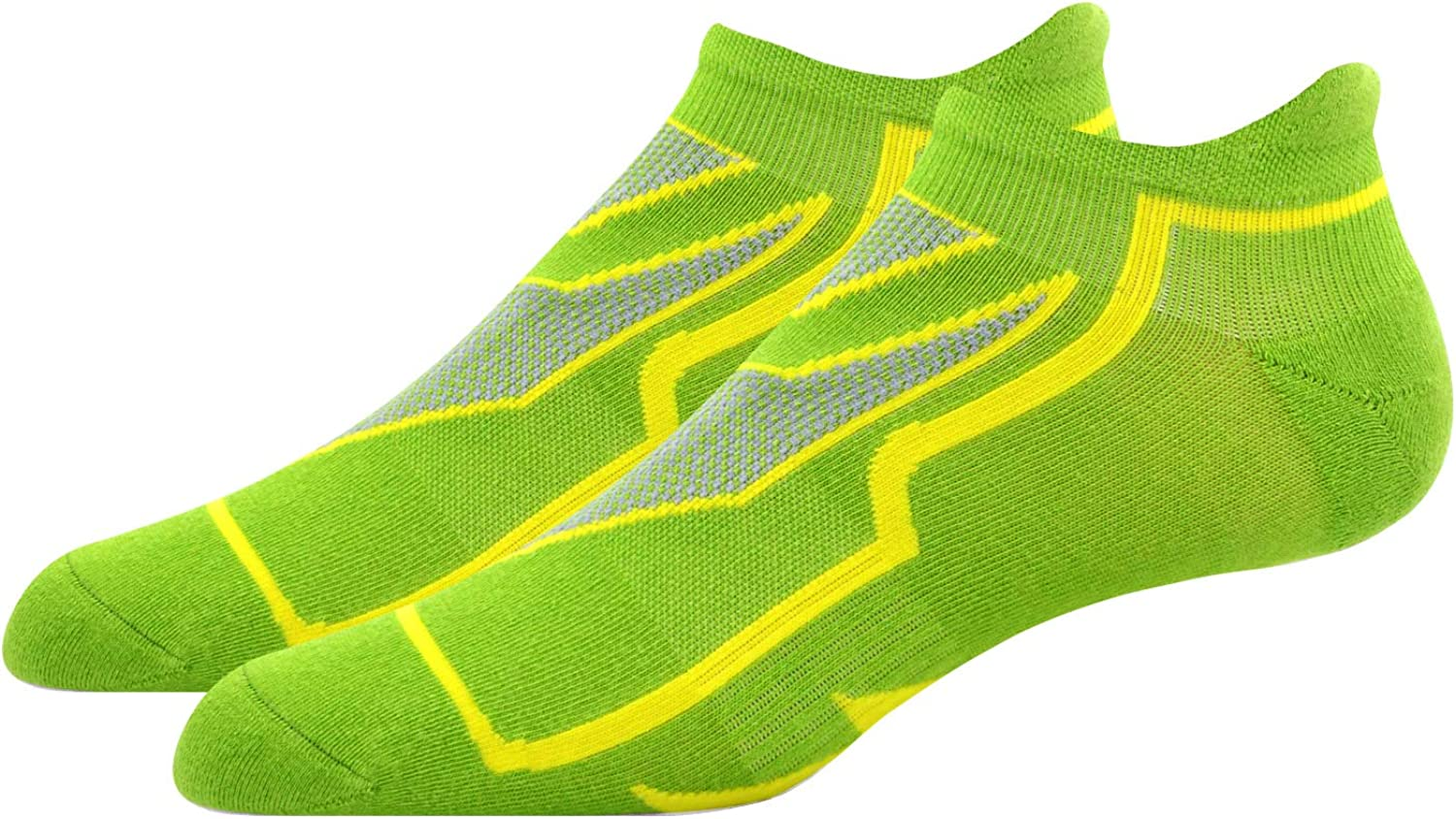 Busy Socks No Show Running Sports Compression Comfort Cushioned Footie Sneaker Socks for Men and Women 1,3,6 Pack
