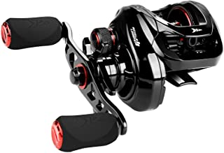 KastKing Royale Legend II Baitcasting Reels, New Compact Design Fishing Reel, 17.64LB Carbon Fiber Drag, Cross-Fire 8 Magnet Braking System, Available in 5.4:1 and 7.2:1 Gear Ratios