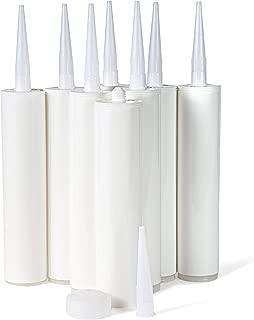 Bright Creations Empty Caulking Sealant Tubes (8 Pack)