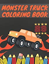 Monster Truck Coloring Book: Have Fun And Feel Monster Truck Power! For Kids Jam Full Speed For Boys Relaxation