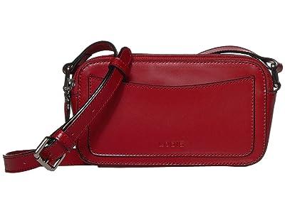 Lodis Accessories Audrey Arabella Crossbody (Red) Handbags