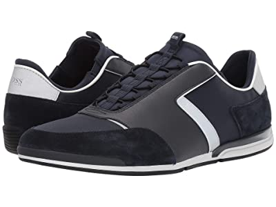 BOSS Hugo Boss Saturn Low Profile Sneakers (Dark Blue) Men