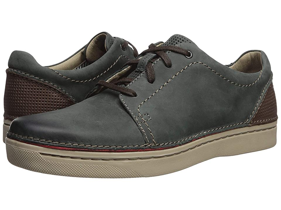Clarks Kitna Stride (Slate Leather) Men