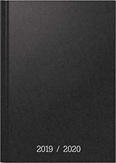 "Brunnen 1072964150 ""Balacron"", schoolagenda / weekkalender 2019/2020, 2 pagina's = 1 week, bladformaat 12 x 16 cm, A6, zwart"