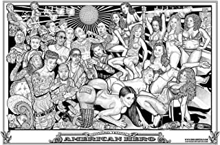 American Hero Howard Teman Hip Hop Strip Club Cool Wall Decor Art Print Poster 36x24 inch