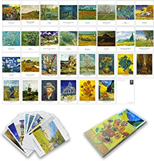 """Picture Wall Collage Kit Aesthetic - Art Print Poster for Bedroom Décor 4'*6"""" 30 Pcs (Van Gogh)"""