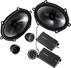 Kicker 46CSS684 Car Audio 6×8 Component Full Range Stereo Speakers Set CSS68