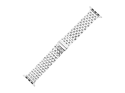 Michele 38/40 mm Michele Bracelet For Apple Watch (Silver) Watches