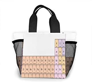 Reusable Grocery Bags Chemistry Scientific Gems Small Tote Bag Lunch Bag for Women