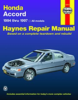Honda Accord '94'97 (Haynes Repair Manuals)