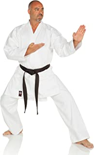 Ronin Brand Karate GI – Karate Uniform Middleweight, Medium Weight Martial Arts Karate Uniform - 9.5 oz - White Belt Included - Perfect for Intermediate Levels