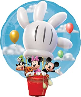 mickey mouse hot air balloon cake topper