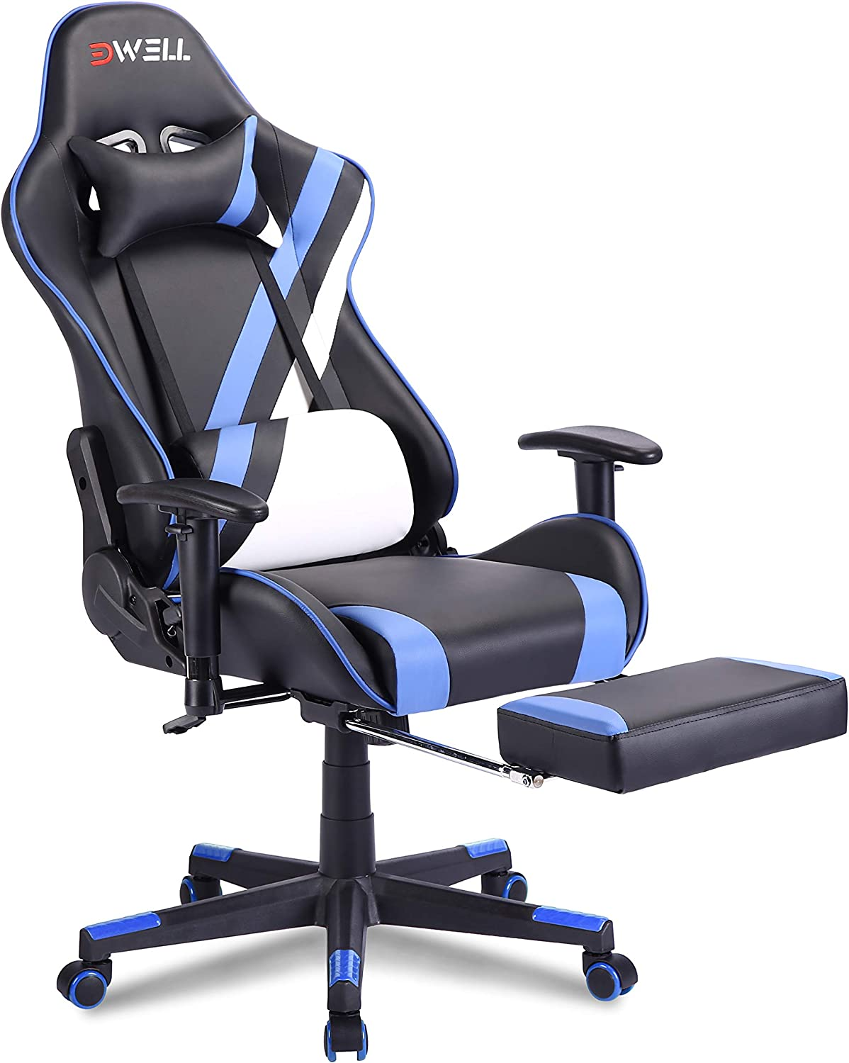 EDWELL Oakland Mall Gaming Chair Computer Ad footrest with Max 87% OFF