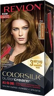Revlon Colorsilk Buttercream Hair Dye, Dark Beige Blonde, Pack of 1