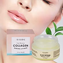 Avashine Lip Sleep Mask with Collagen Peptide, lip mask for dry lips, a Lip Moisturizer..