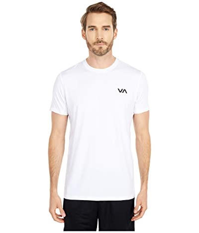 RVCA VA Sport Vent Short Sleeve Top (White) Men