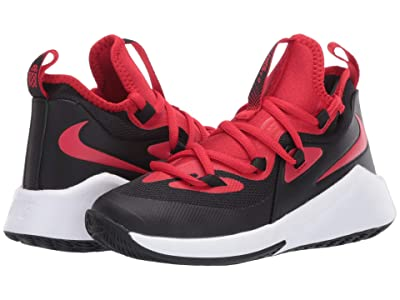 Nike Kids Future Court 2 (Big Kid) (Black/University Red/White) Kids Shoes