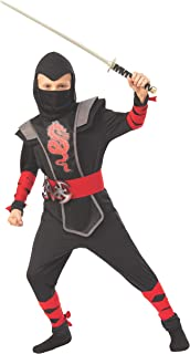 Rubie's Opus Collection Child's Red Ninja Costume, Large