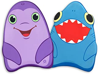 Melissa & Doug Kickboard Bundle – Dolphin and Shark