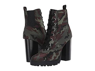 Steve Madden Latch Combat Boot (Camouflage) Women