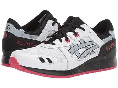ASICS Tiger Gel-Lyte III (White/Piedmont Grey) Men