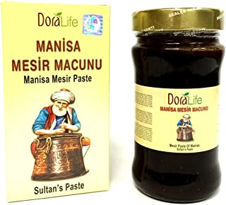Manisa Mesir Paste Herbal Ottoman Health Aphrodisiac Paste Mesir Macunu 400 Gr.