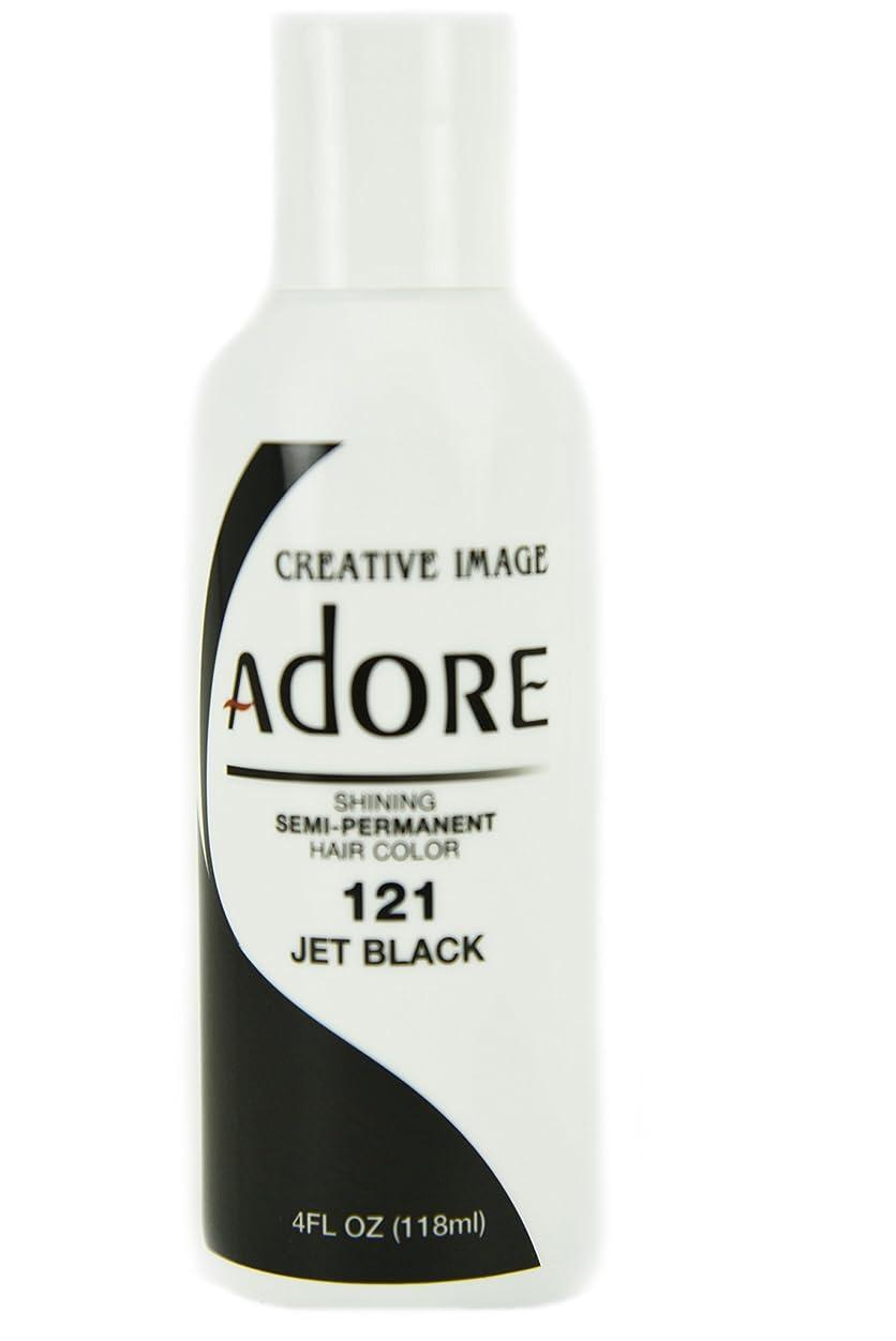 目覚めるまつげドラマShining Semi-Permanent Hair Color - Jet Black - 118ml by Shinning Colors