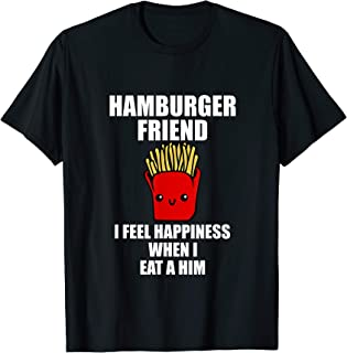 Best hamburger friend shirt Reviews