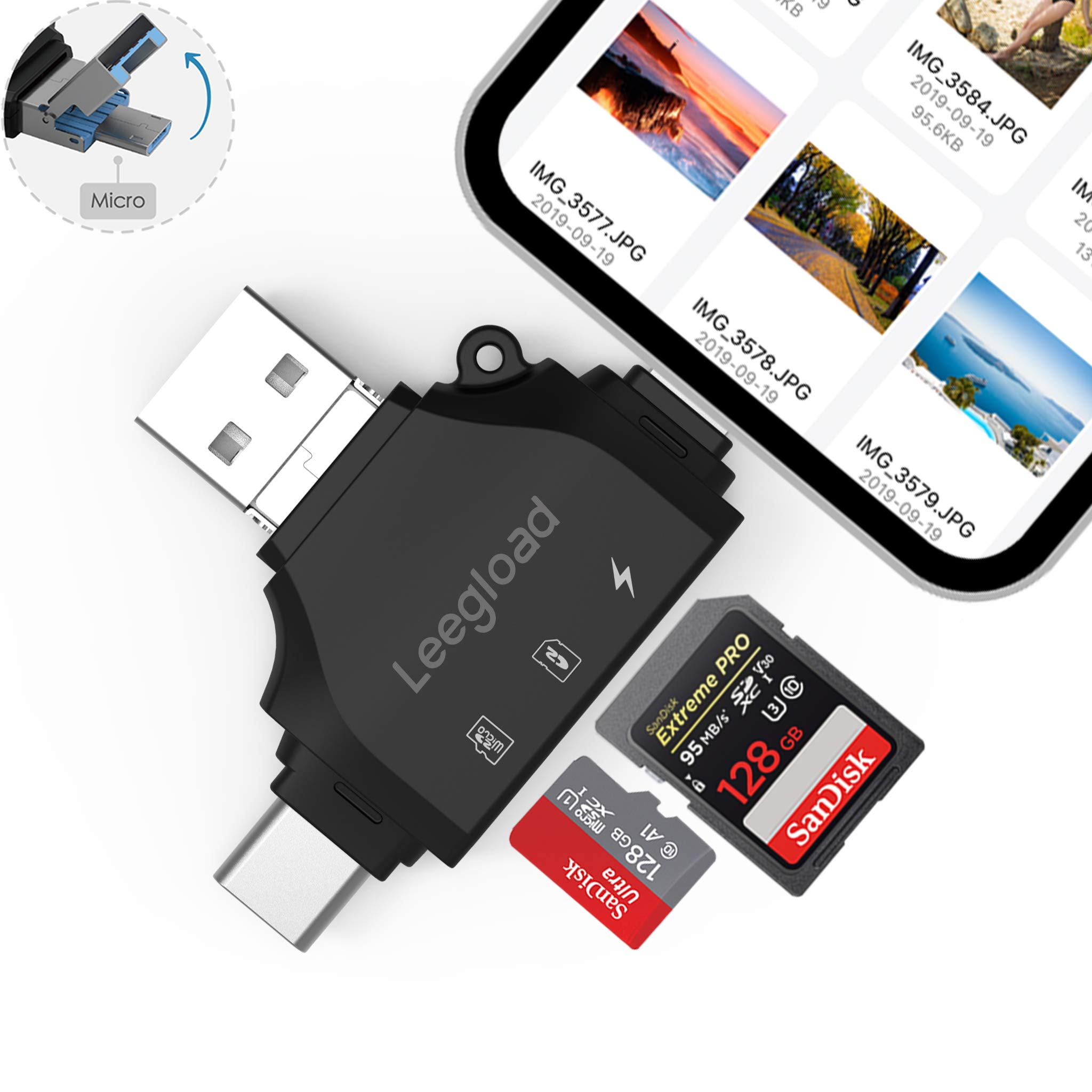LEEGLOAD Compatible Android Computer Lightning