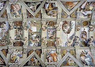 Classique Puzzle Jeu Le plafond Chapelle Sixtine de Michel-Ange 5000 pièces de papier Jigsaw Puzzle for adultes enfants su...