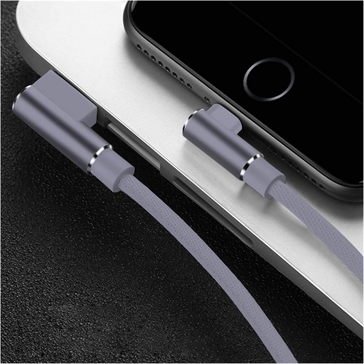 GBHD USB Extension Cable 1 2 3m 90 Degree Fast Charging Data Type C Micro USB C Cable for Samsung Huawei Xiaomi Type-c Charger Long Mobile Phone Cable Cell Phone Cables