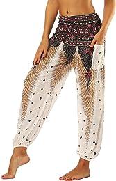 Femme Harem Pantalon Yoga Sarouel Legers Hippie Ba