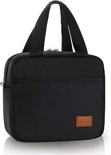 AOSBOS Sac Repas Isotherme Sac Déjeuner Portable Lunch Bag Parent-Enfant, Style Sobre pour École Bureau