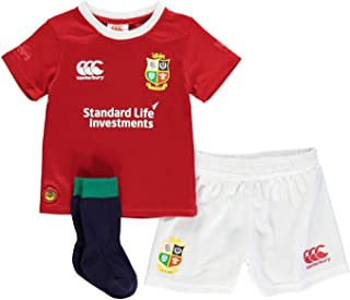 Official Brand Canterbury British and Irish Lions Mini Kit 2017 Infants Boys Rugby Red